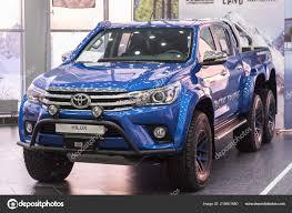 100 Toyota Artic Truck Kuzbass Russia December 2017 Hilux Arctic S Dealership
