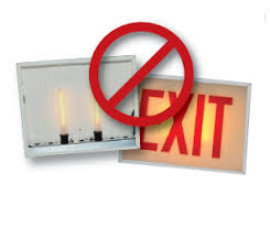 led exit synergy lighting
