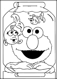 Baby Elmo Coloring Pages Pin On