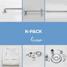 bestbath bathtub shower accessory kits water containment kits