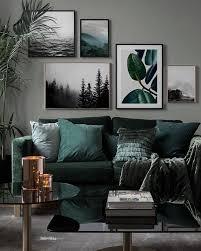 livingroomdeco inspiration bilderwand wohnzimmer inspi