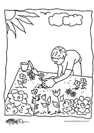 Sheets Garden Coloring Pages 80 On Gallery Ideas With