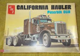 Vintage AMT T500 California Hauler Peterbilt 359 Model Kit | EBay