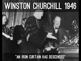 Winston Churchills Iron Curtain Speech by The Cold War By Blairh