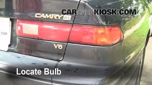 brake light change 1997 2001 toyota camry 1997 toyota camry xle