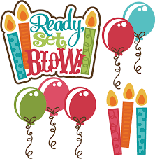 Ready Set Blow SVG birthday svg file birthday cake svg file free