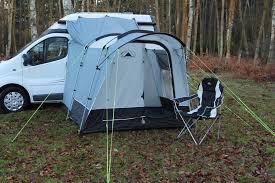 SunnCamp Silhouette 225 Motor Puls Awning Drive Away Caravan Motorhome Campervan Awnings Adaptors Privacy Room