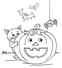 Picture Coloring Pages For Halloween 56 Your Line Drawings With