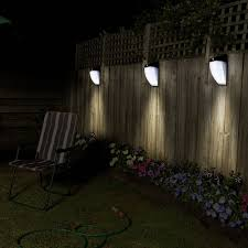 outdoor solar lights 36led motion sensor wall mount
