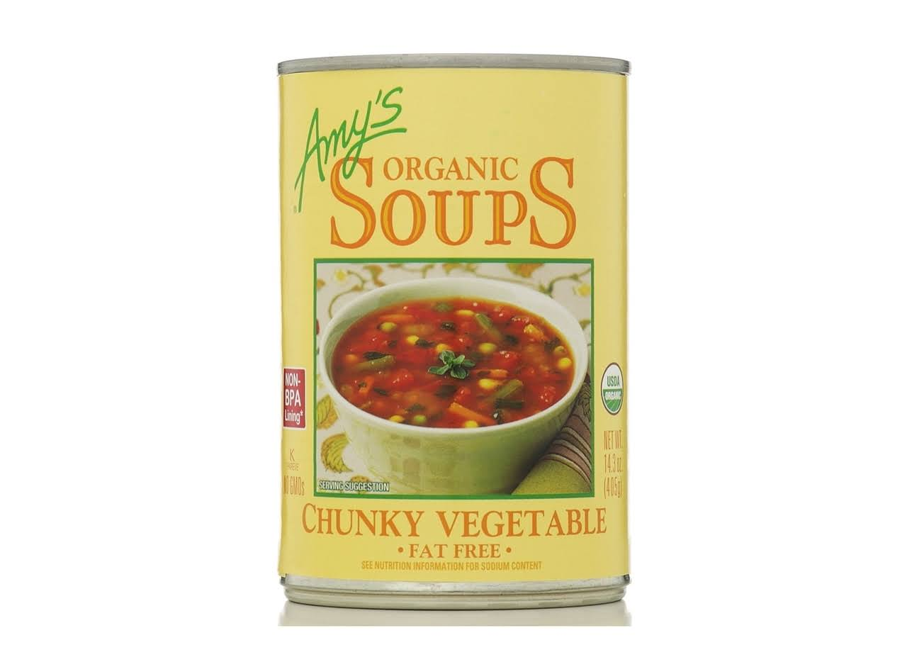 Amy's Chunky Vegetable Organic Soups - 14.3oz