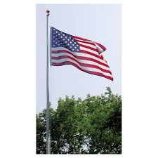 100 Flag Pole For Truck Super Tough Residential 20ft Pole Silver White Or Bronze