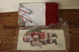 Pottery Barn Nostalgic Santa Tablecloth 70x108 & Kitchen Towel ... Functional Towels For The Kitchens And Modern New Inovative Pottery Barn Shades Design Ideas Linen Roman Decorating With Ladders 25 Creative Ways Shelving Kitchen Accsories Antler Towel Rack Deer Wheaton Stripe Napkin Au Barninspired Ding Room On A Budget From Mae To You Best Paper Towel Holders Ideas On Pinterest Towels Sinks Kenangorguncom Holiday Home Tour Classic Christmas Decor Tips Pillow Catstudio Pillows Target 444 Best Cricut Images Vinyl Serendipity Refined Blog Inspired Valentines Day