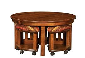 Coffee Table With Chairs Underneath creative of round coffee table with stools underneath round coffee