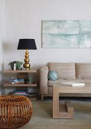 eclectic side table living room contemporary with bright pink side