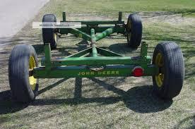 Old Antique Vintage John Deere Tractor Wagon Running Gear 953 Parade Trailer