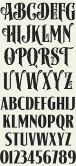 Alfabeto De Letras Con Estilo Retro Letterhead Fonts LHF Signmaker Antique