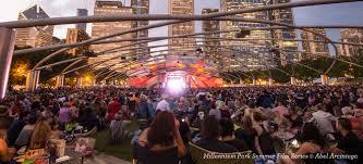 Jazzin At The Shedd Parking by Millennium Park Summer Film Series Choose Chicago