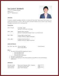 Hvac Resume Sample No Experience Example With Of Work On