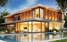 100 Modern Houses Wallpaper Design House Pool Modern Houses Villa Luxury