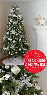 Silver Christmas Tree Decorations Awesome 39 Types Best