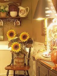 Cookie Jar Coffee Elegant Accessories Taste Rustic Sunflower Kitchen Decor Tuscan Elements