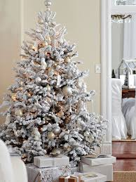 Snow Flocked Slim Christmas Tree by How To Choose Fake Trees For Christmas From Better Homes And Gardens
