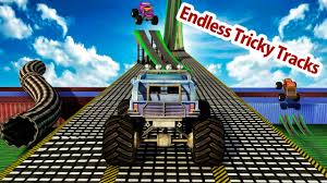 100 Play Monster Truck Games Driver Impossible Track Stunt Racing For Android