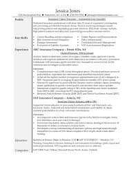 Claims Adjuster Resume Detail Insurance Appraiser Examples Gi A34478