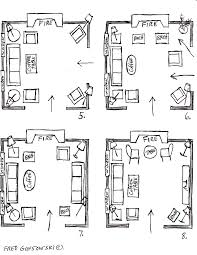 Rectangular Living Room Layout Ideas by It U0027s Easy To Arrange Furniture In A Square Living Room Some Ideas