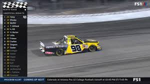 Crazy Finish - Last Laps - NASCAR Truck Playoffs At Texas - YouTube