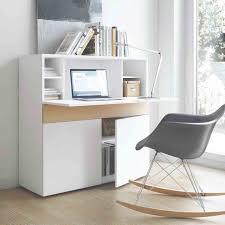meuble bureau blanc de lepolyglotte et bureau blanc personal noir mobilier de