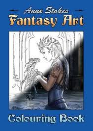 The Anne Stokes Fantasy Art Colouring Book By