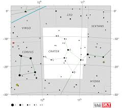 Crater Constellationthe Cup Constellationstar Mapstar Chart