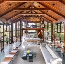 100 Glass Walls For Houses Brazilian House With Panoramic Adorable Home