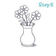 How To Draw Vase 5