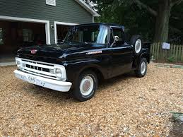 1961 Ford F100 SWB Stepside - Ford Truck Enthusiasts Forums | F100 ... 1961 Fordtruck 12 61ft2048d Desert Valley Auto Parts Rboy Features Episode 3 Rynobuilts Ford Unibody Pickup F100 Shortbed Big Back Window Pinterest C Series Wikipedia F600 Grain Truck Item J7848 Sold August Ve Truck Ratrod Hot Rod Custom F 100 Black Satin Paint From Keystone Photo 1 Dc3129 June 20 Ag Ford Swb Stepside Pick Up Truck Tax Four Score F250 Cool Stuff Trucks Trucks E