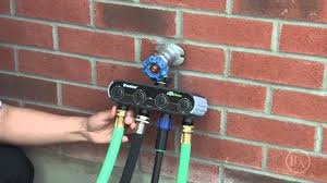 Hose Faucet Timer Wifi by Wi Fi Water Timer Youtube