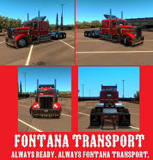 Fontana Transport USA By Korwin-Straden On DeviantArt 2007 Ford F750 Terex Bt2857 14 Ton Crane Truck For Sale In East Coast Truck Auto Sales Inc Used Autos Fontana Ca 92337 2016 F150 Pick Up Truck Transwest Center Sa Trucks Fontana Meet 82513 Youtube Toyota Rb Auto 2008 Sterling Lt9500 Effer 340116s 13 Man Shot By Police After Fleeing Traffic Stop Had Gun Update Firefighter Is Injured During Incident Which Tec Equipment On Twitter The Mack Anthem Tour Has Arrived At The Rush Centers To Sponsor Clint Bowyer This Weekend