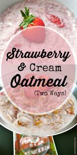 Pumpkin Pie Overnight Oats Rabbit Food by Strawberries And Cream Oatmeal Sprint 2 The Table