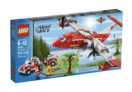 LEGO City Fire Plane 4209 Kids And Boys Building And Learning Toys ...
