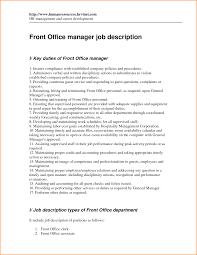 Front Desk Receptionist Resume Salon by 12 Front Desk Manager Job Description Invoice Template Download