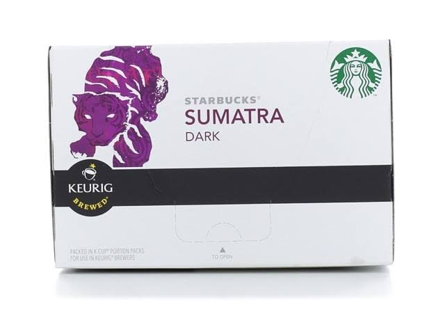 Starbucks Sumatra Single Cup Coffee - Dark Roast, 10ct