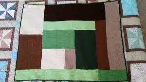 Perfect Moderne Log Cabin Blanket Remodel