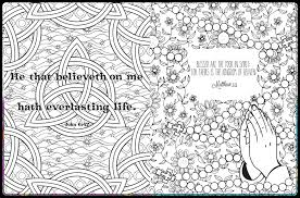 Christian Coloring Book Inside Spread 1 2