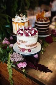 Trio Of Single Tier Cakes