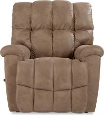 Darrin Leather Reclining Sofa With Console by Recliners Brutus Extra Large Recliner By La Z Boy Chair Lazy