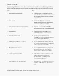 High School Resume Objective Unique Profile Header Examples At Sample Ideas Of