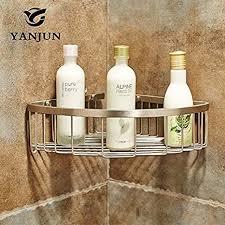 bathae badezimmer regal brushed corner etagere dusche caddy