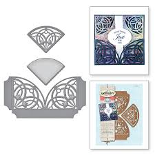 Shapeabilities Amazing Paper Grace Arched Elegance Pocket Etched Dies
