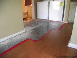 Installing Laminate Floors Over Concrete by Repair Wet Laminate Flooring Do It Yourself